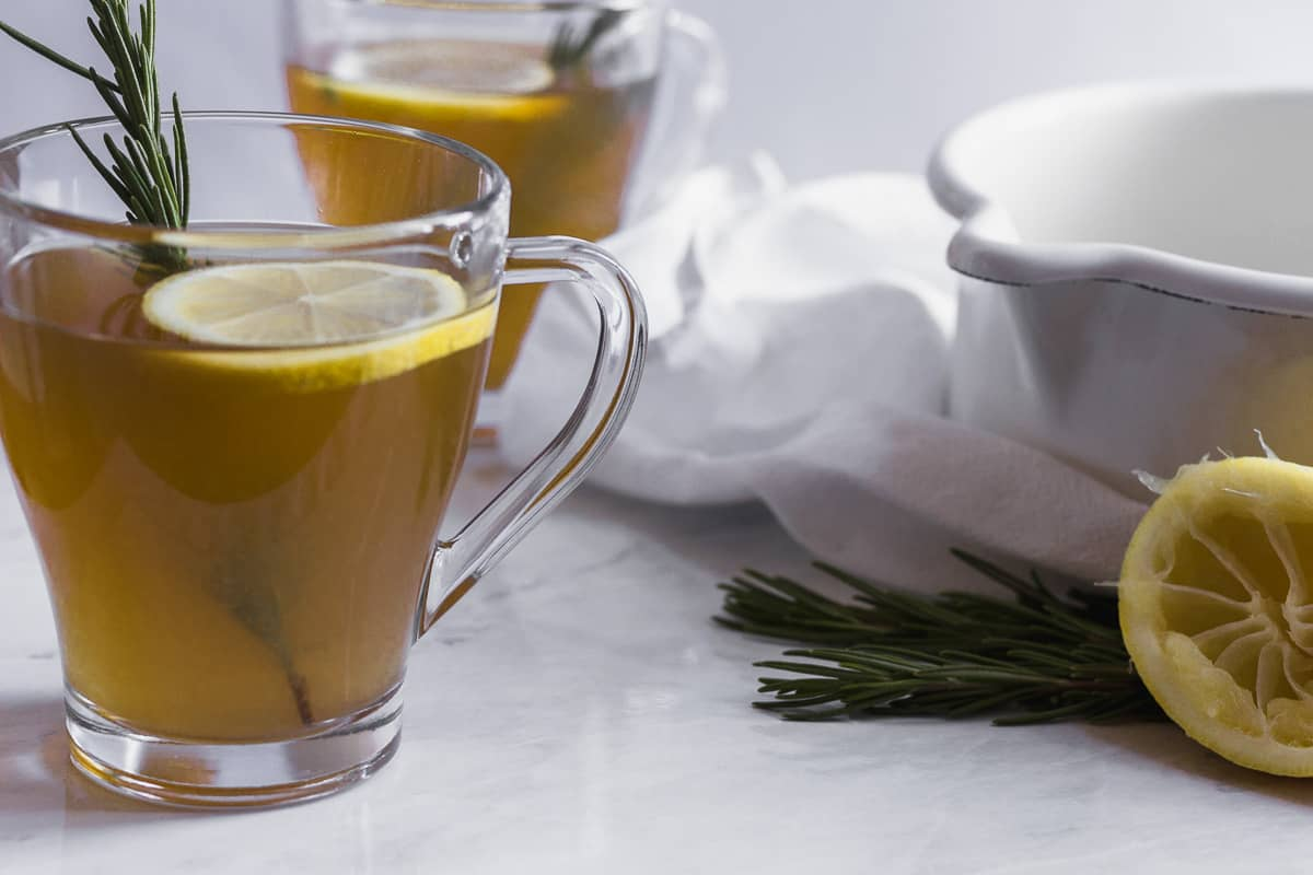 Rosemary Ginger Hot Toddy