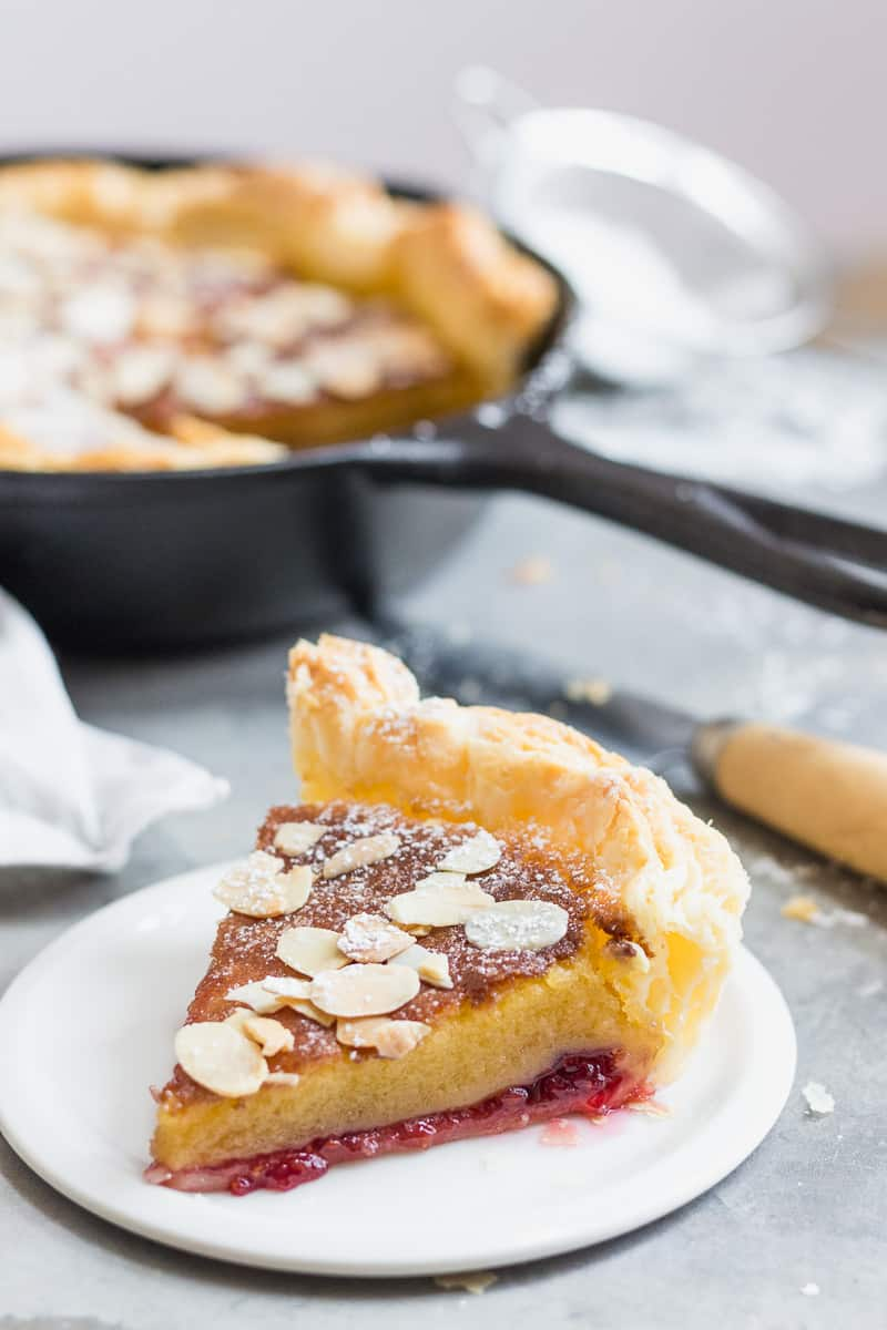 Slice of Bakewell Pudding