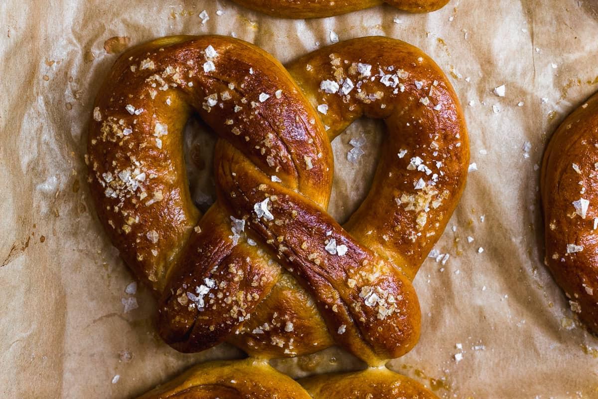 Baked Soft Pretzel